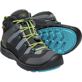 Keen Junior Hikeport WP Mid Shoes magnet/greenery